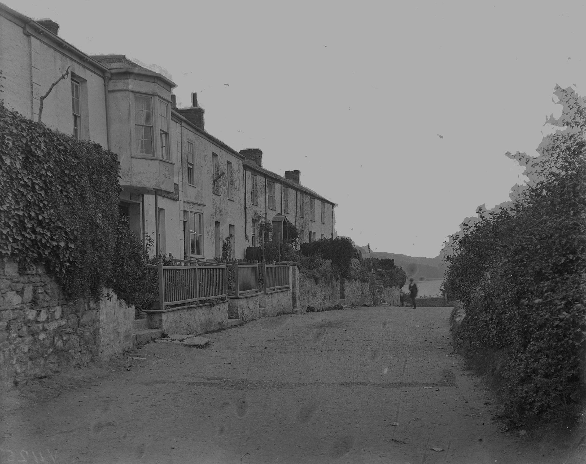 Historical image of Trenhaile Terrace in Malpas