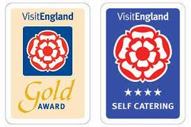 Visit England - 4 Star Gold Logo