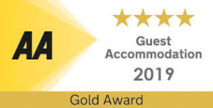 AA 4 Star Gold Award for 2019